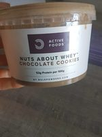 Nuts about whey chocolate cookies - Produit