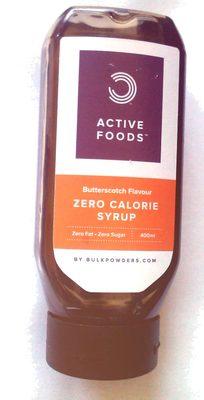 zero calorie syrup - Producto