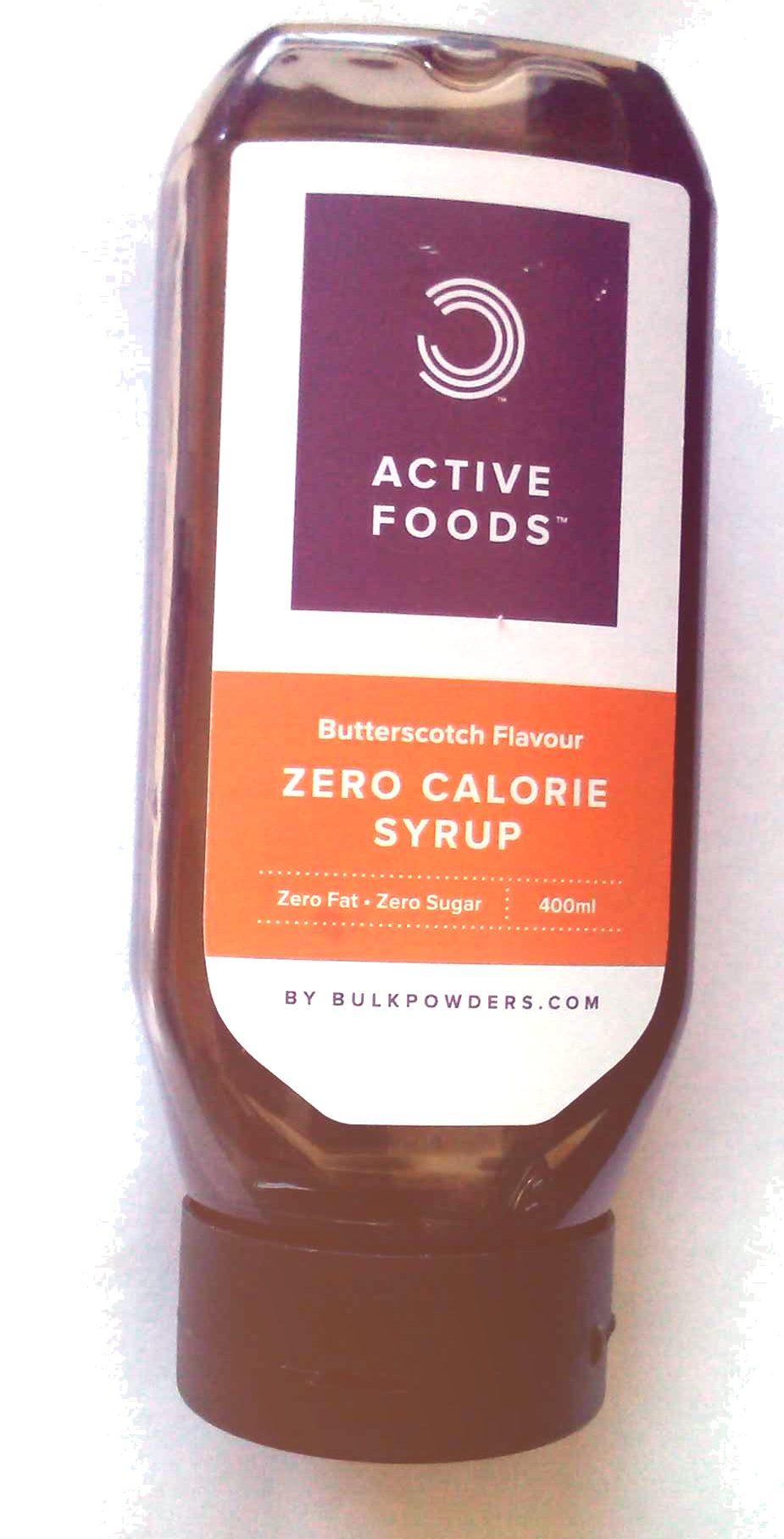 Zero calorie syrup - Producto - es
