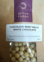 Chocolate whey balls - Produit - fr