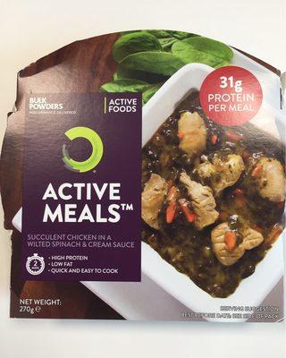 Active Meal - Succulent Chicken - Produit - fr