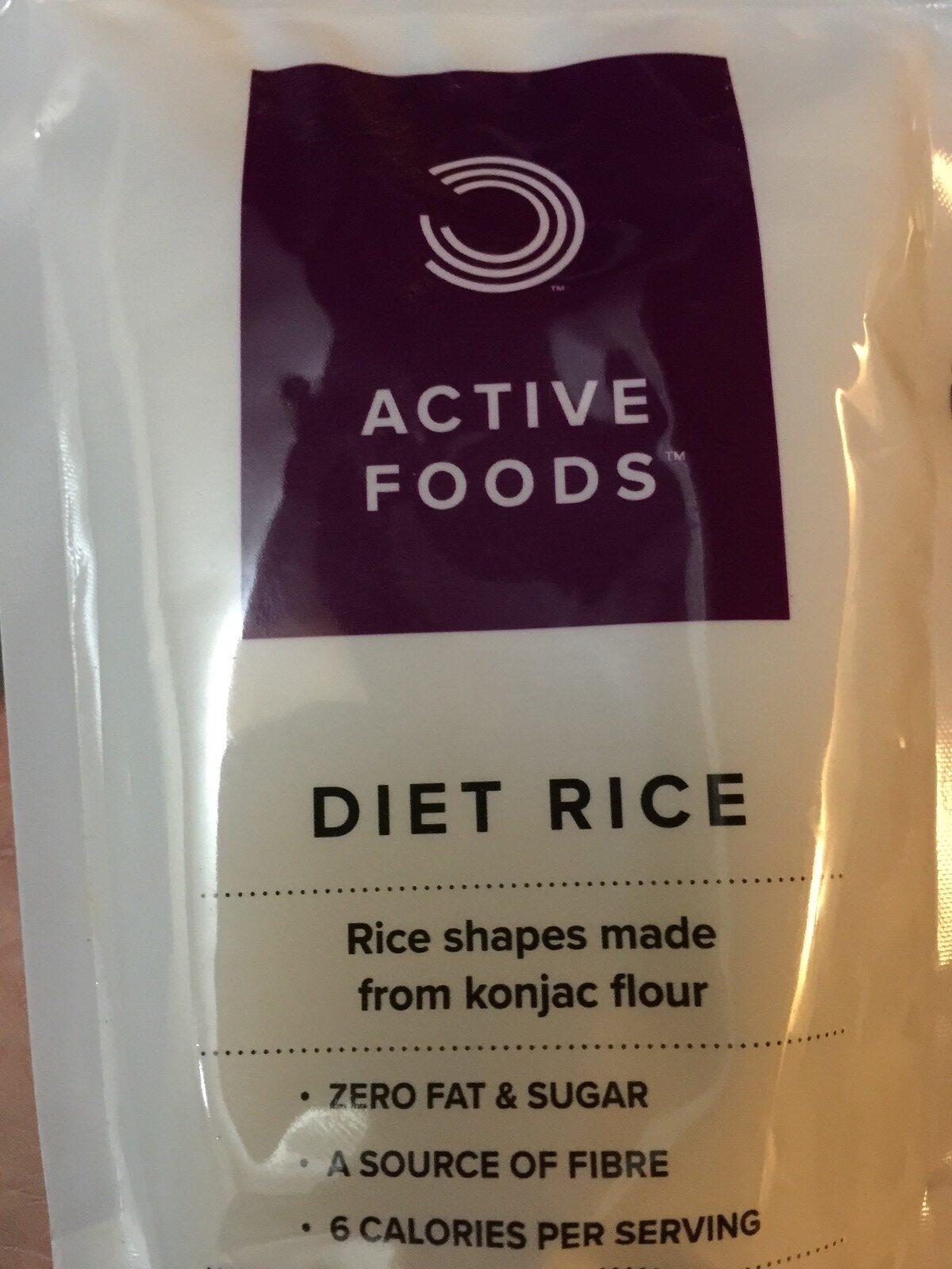 Diet Rice - Ingrédients - fr