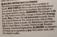 Protein mug meal - Ingrédients - fr