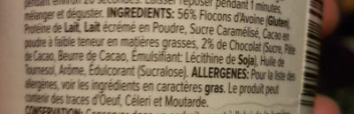 Protein porridge pot - Ingredientes - fr