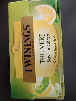 Thé vert saveur citron - Product - fr