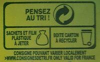Thé vert saveur citron - Instruction de recyclage et/ou information d'emballage - fr