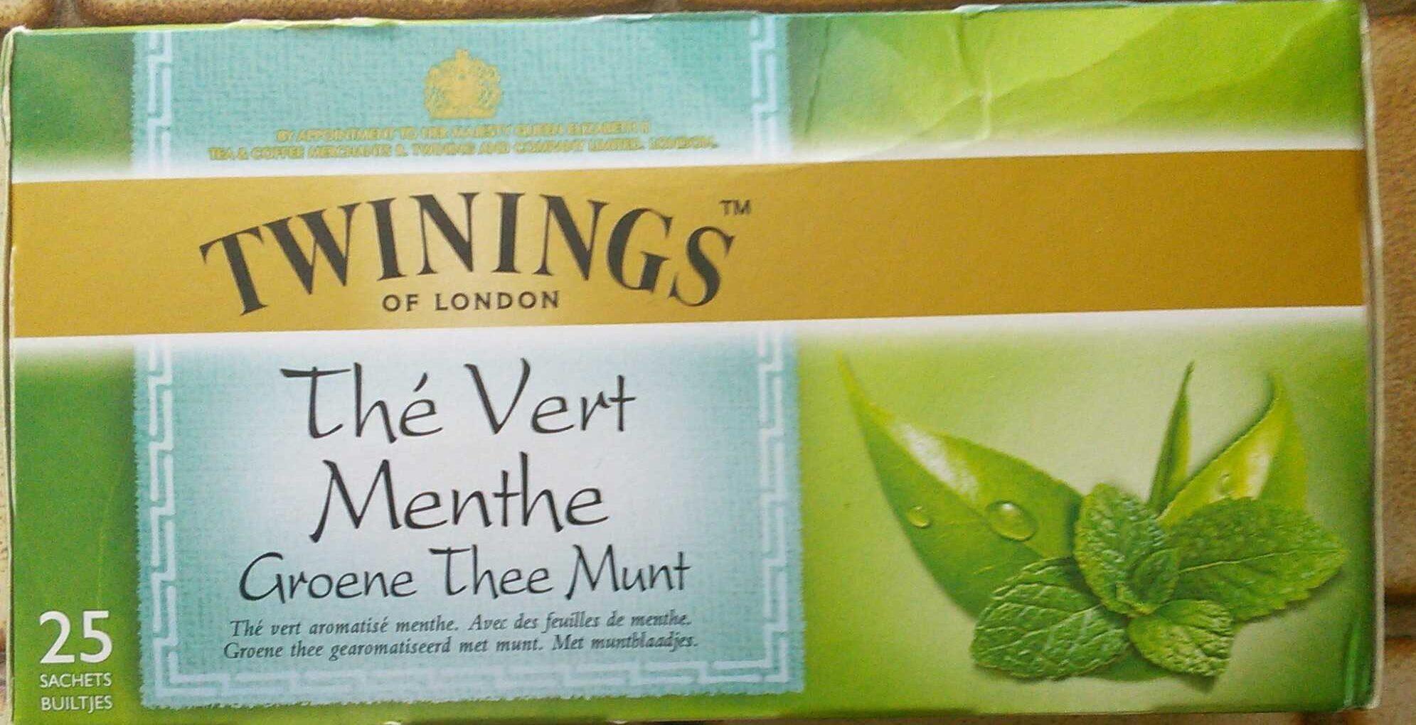 Twinning Thé Vert Menthe - Product