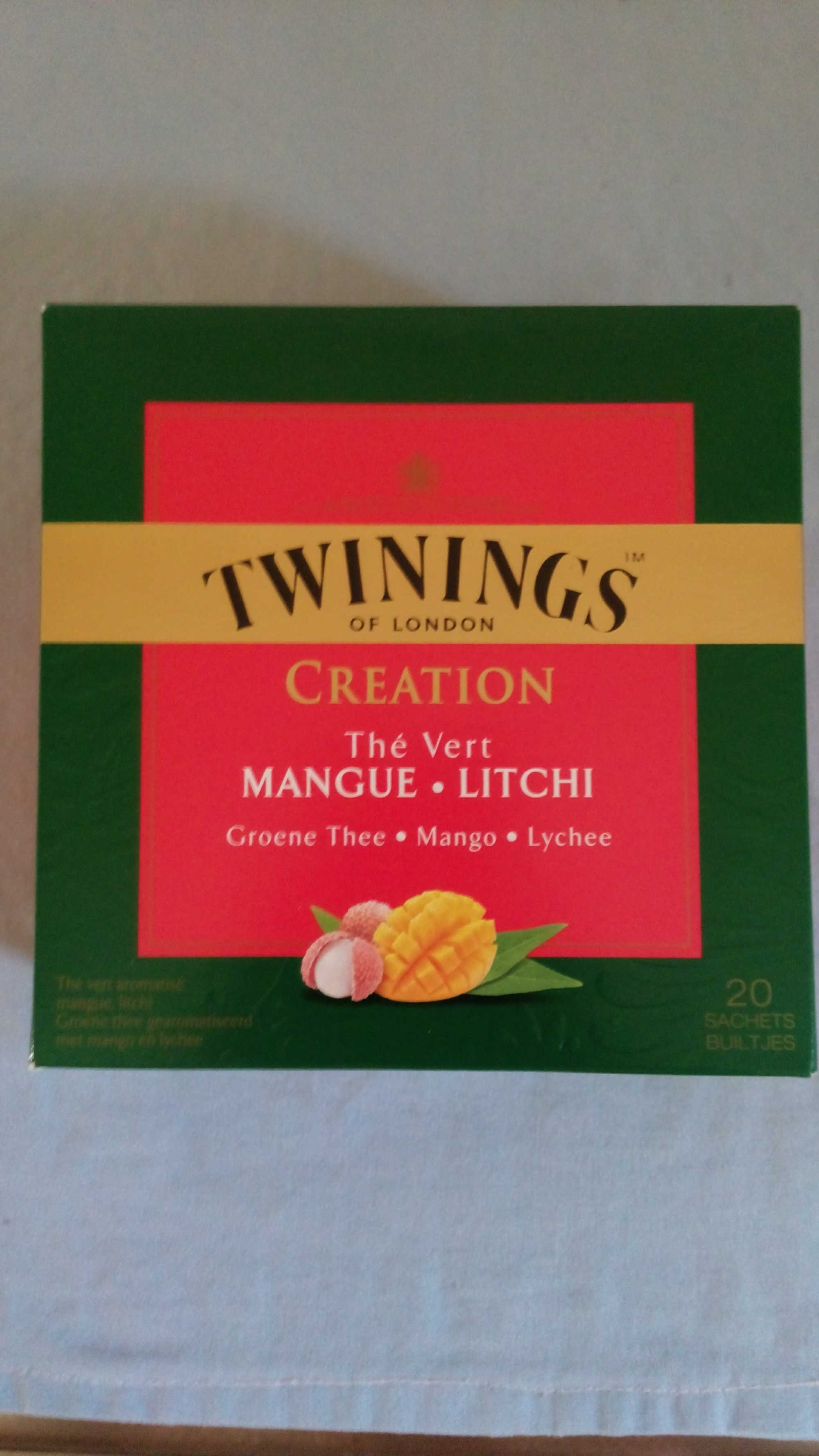 Thé vert mangue litchi - Product - fr