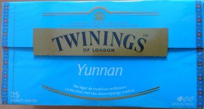 Yunnan - Produit