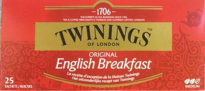 English breakfast - Product - fr