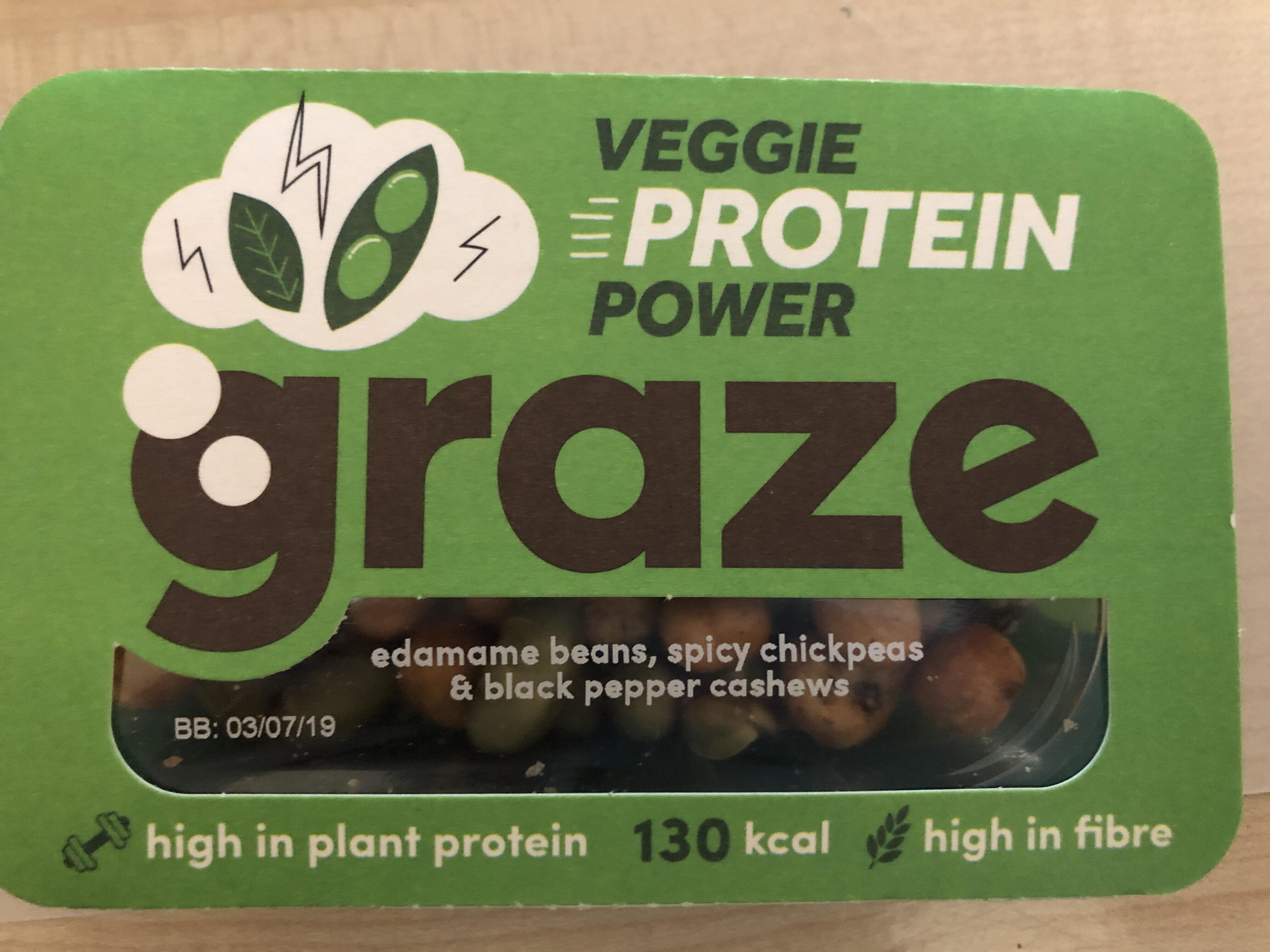 Graze Snack Box Veggie Protein Power - Product - en