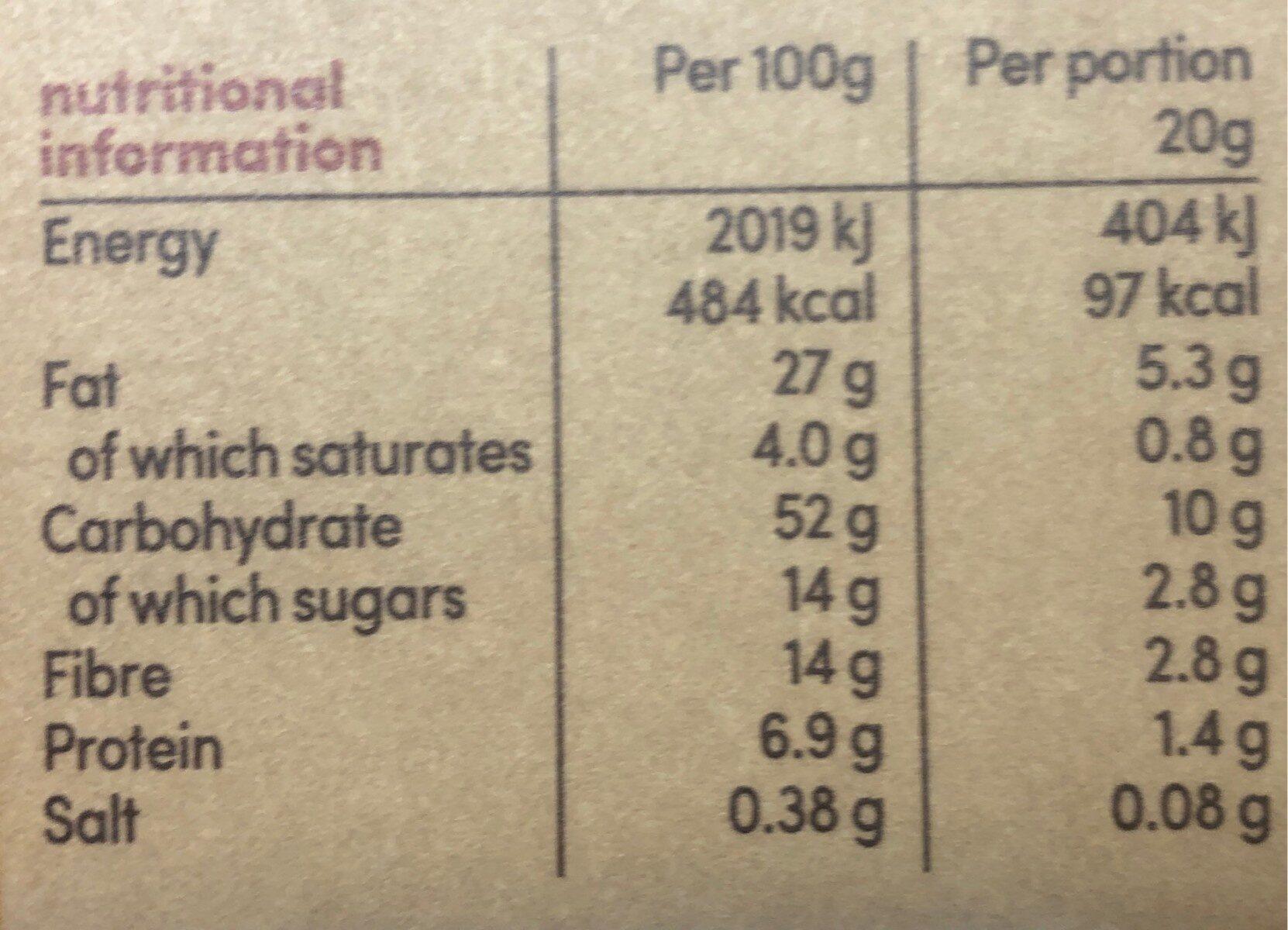 Lemon Drizzle Wow Bakes - Nutrition facts
