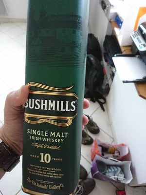 Bushmills 10 Year Old Irish Malt Whiskey - Product