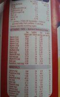 Slim-fast Blissful Banana Shake - Informations nutritionnelles - fr