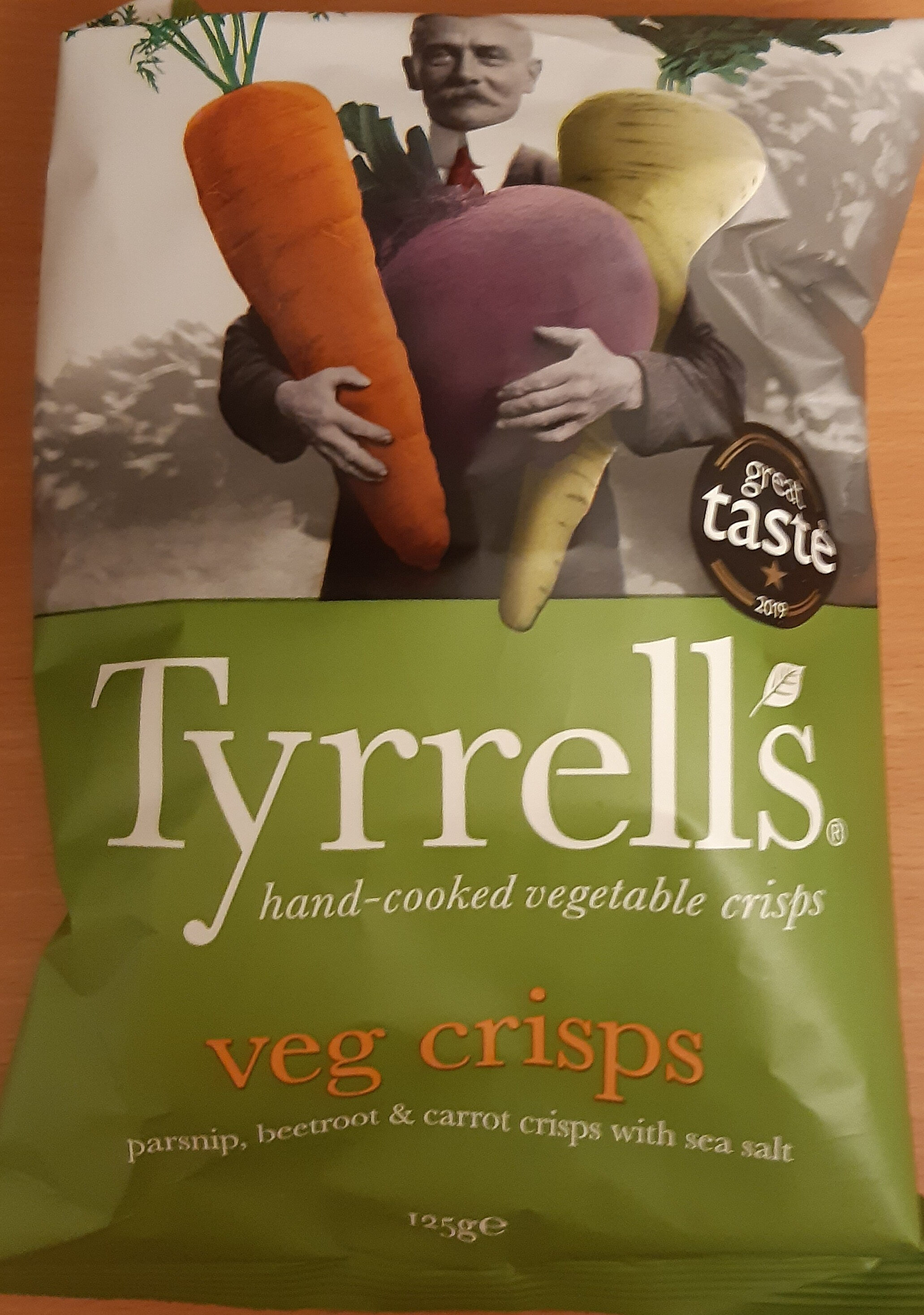 Hand-Cooked English Crisps Veg Crisps - Prodotto - it