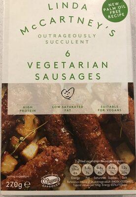 Vegetarian sausages - Prodotto - en