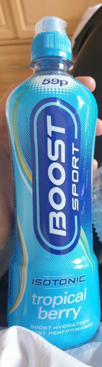 boost sport tropical berry - Prodotto - en