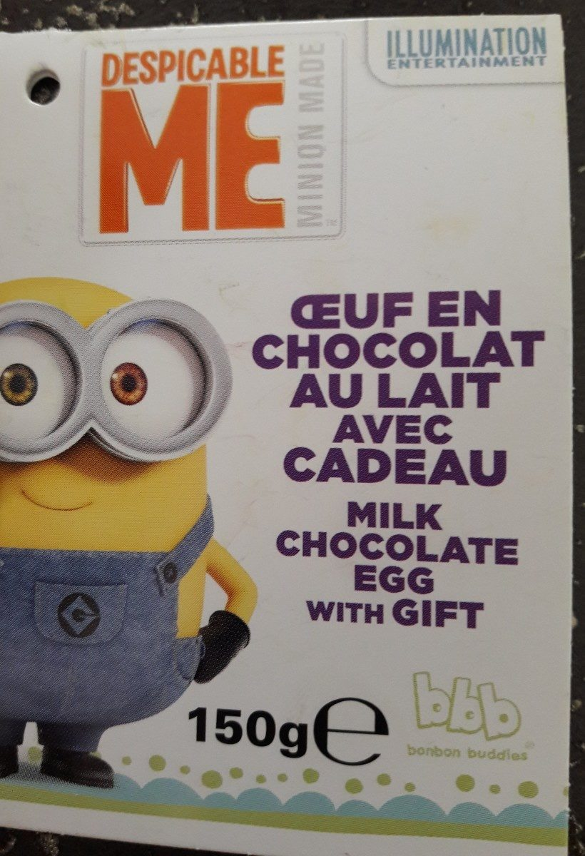 Oeuf chocolat - Ingrediënten - fr
