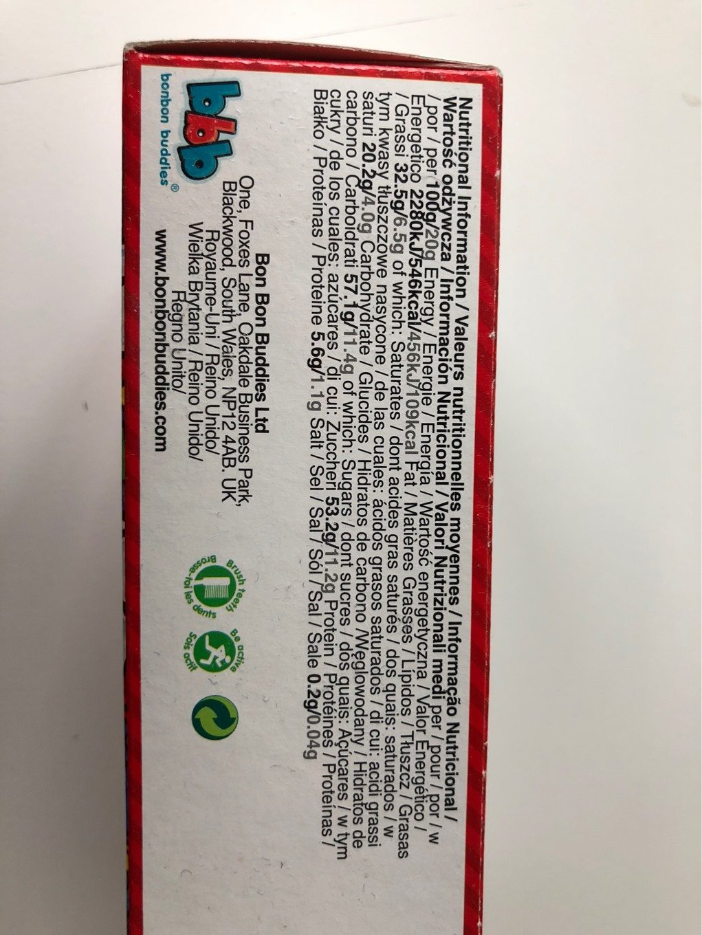 Oeufs en chocolat Super Mario - Nutrition facts
