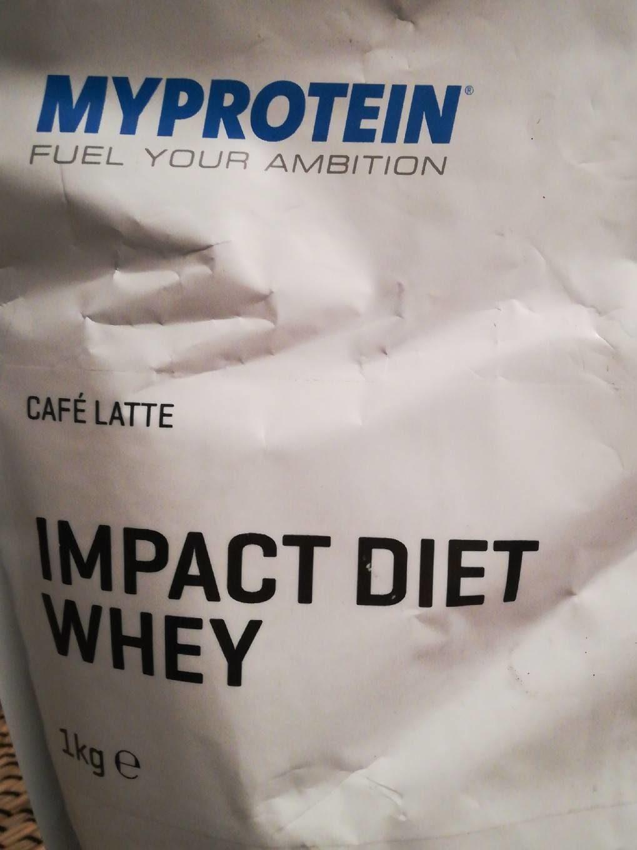 myprotein impact diet whey review