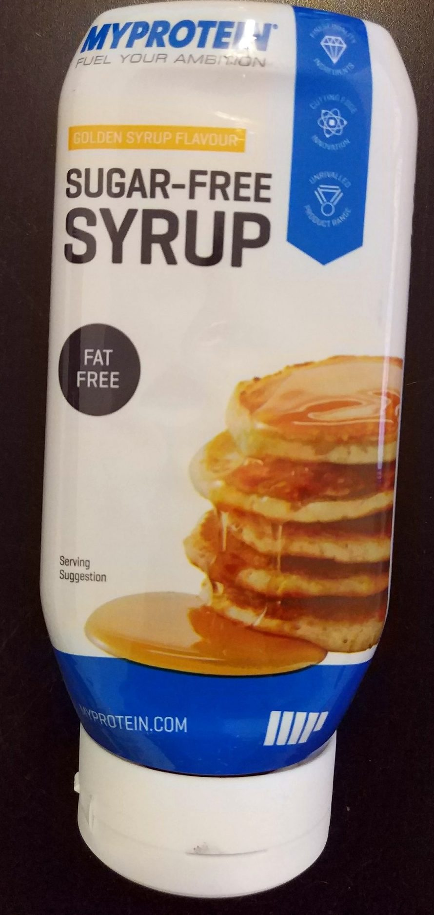 Sugar-Free Syrup Golden Syrup Flavour - Produit