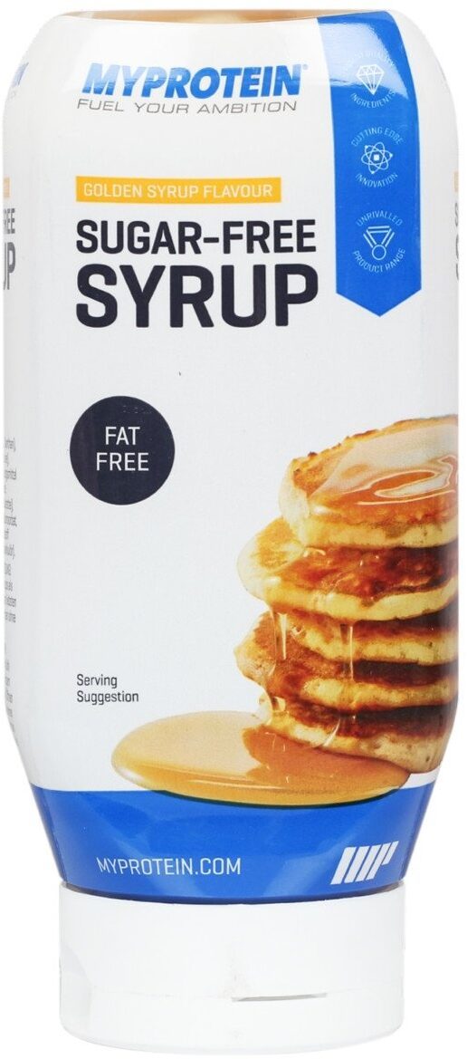 Sugar-Free Syrup Golden Syrup Flavour - Produit - fr