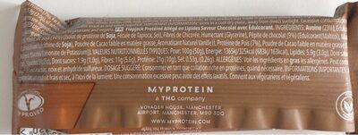 Skinny Flapjack, Chocolate Flavour - Voedingswaarden - fr