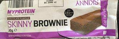Skinny Brownie, Chocolate - Product