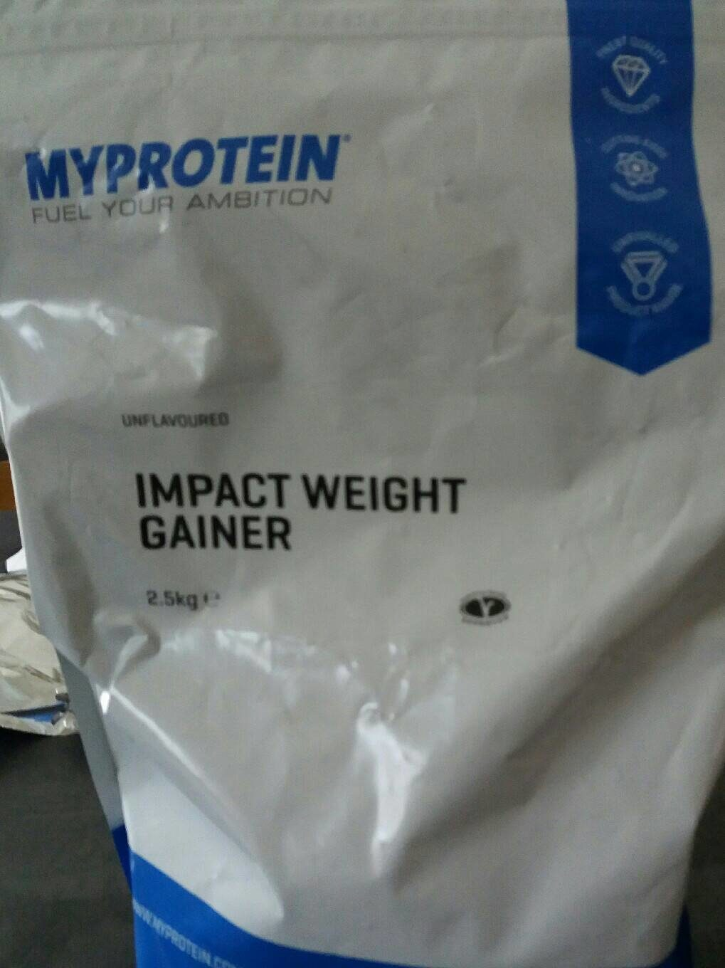 Impact weight gainer - Product - fr