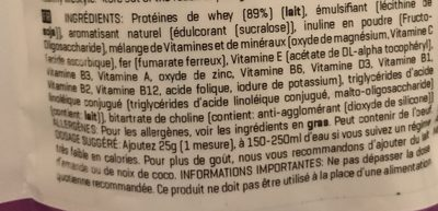 Active women diet blend - Ingrédients - fr