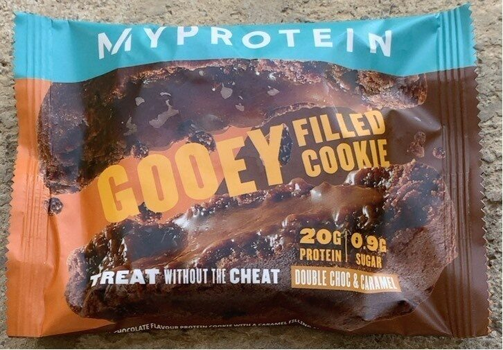 Filled protein cookie - Product - en