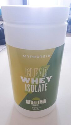 Clear Whey Isolate - bitter lemon - Product