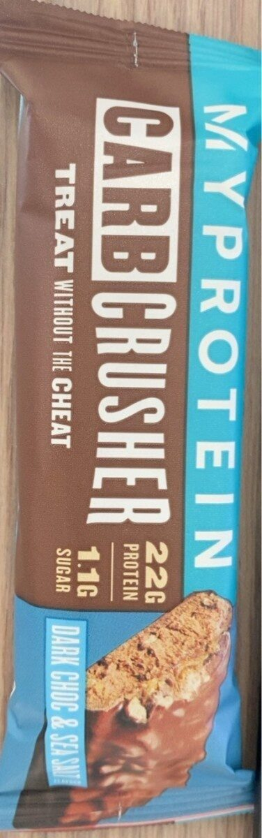 Carb crusher dark chocolat - Product - fr