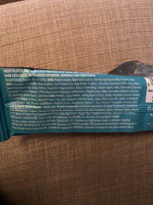 Carb crusher dark chocolat - Ingredients - fr