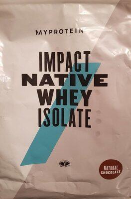 Impact Native Whey Isolate - Producto