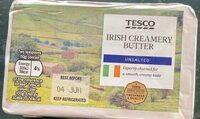 Irish creamery butter unsalted - Product - en