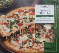 spinach and ricotta stone baked pizza - Product