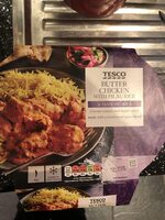 Butter chicken with pilau rice - Produkt - en