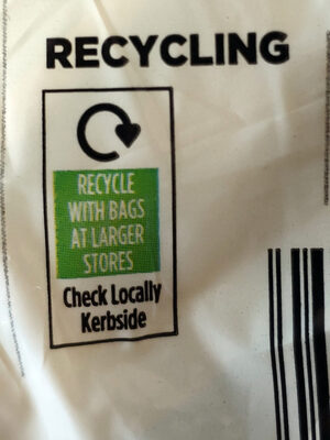 Organic Ripen at home Fairtrade bananas - Recycling instructions and/or packaging information - en