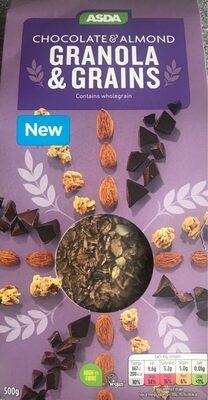 ASDA Choc & Almond Granola & Grains - Produit