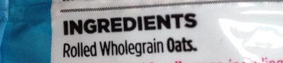 britsih porridge oats - Ingredients - en