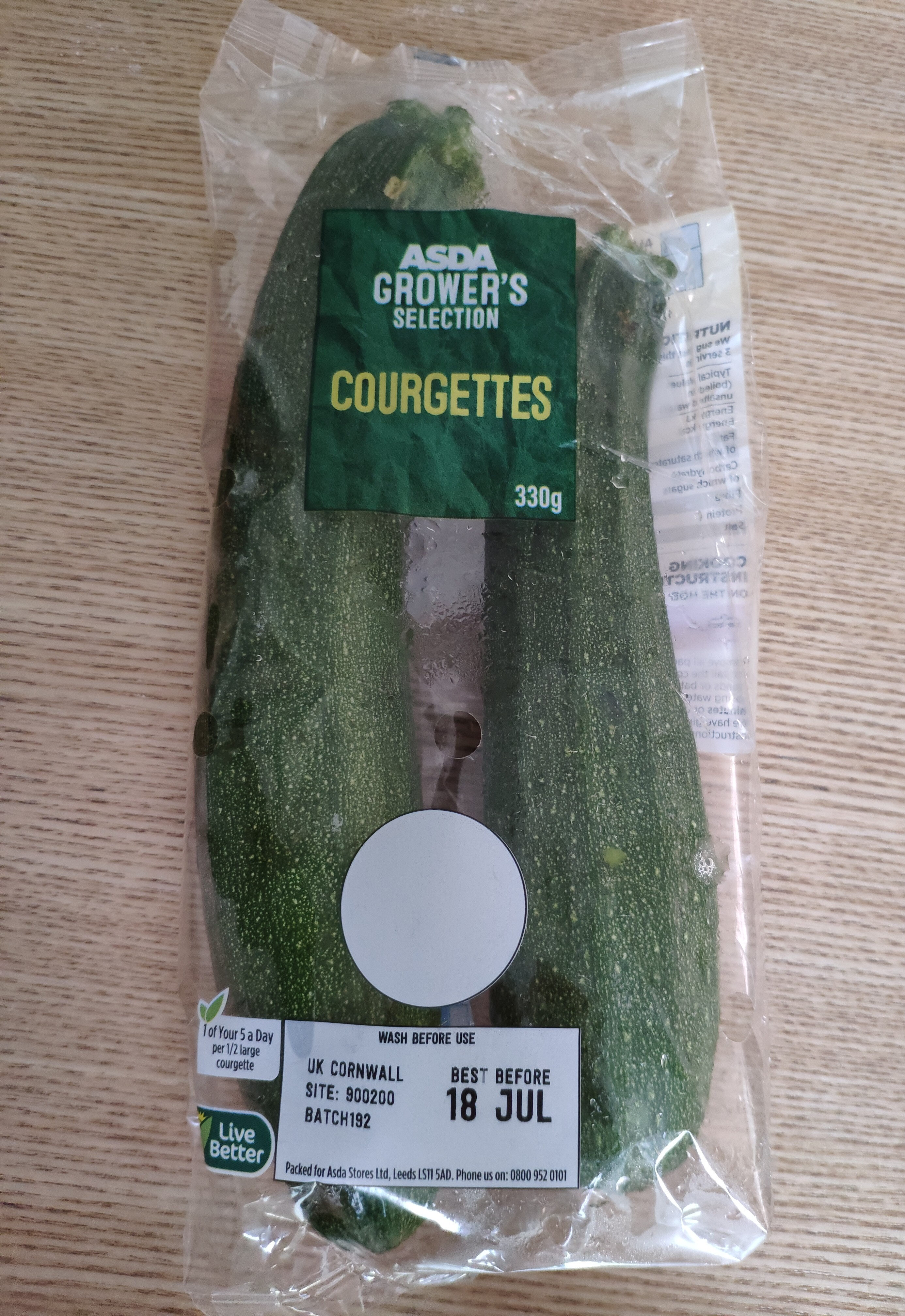 Grower's Selection Courgettes - Product - en