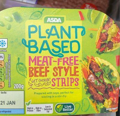 Beef style strips - Product - en