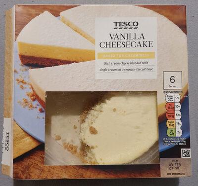Vanilla Cheesecake - Produit - fr