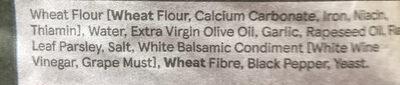 Garlic & Parsley Ciabatta - Ingrédients - en