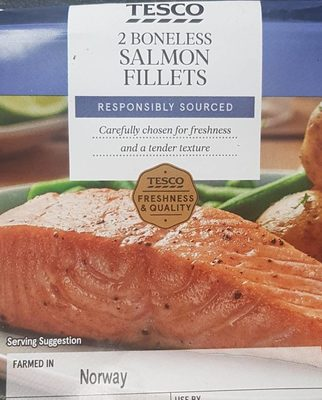 Salmon Fillets - Produit - fr