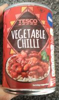 Tesco Vegetable Chilli - Produit - en