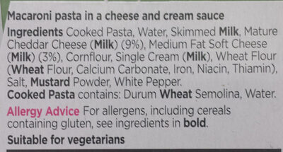 Mac 'n' cheese - Ingrediënten