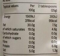Grated Pecorino - Nutrition facts - en