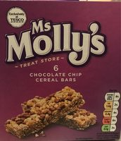 Chocolate chip cereal bars - Produit - fr